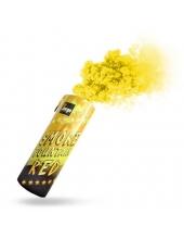 Цветной дым желтого цвета (Польша)
