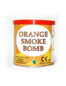 Цветной дым оранжевого цвета (Smoke Bomb)